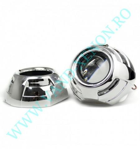Lupe Xenon 3 inch - KIT de proiectoare Bi-Xenon CarTech