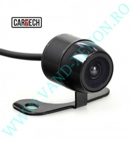 Senzori de parcare cu afisaj in oglinda si camera Cartech SM503