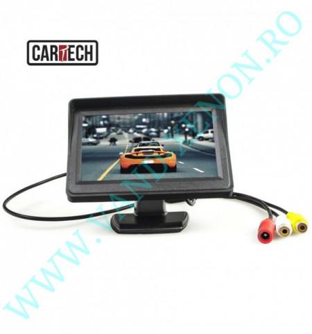 Senzori de parcare cu afisaj si camera Cartech SP503