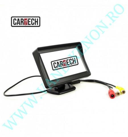 Senzori de parcare cu afisaj si camera Cartech SP505