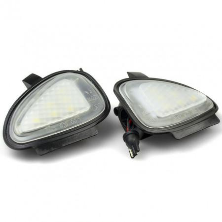 Lampi dedicate cu led sub oglinzi Volkswagen Golf 6, Passat B7, Touran