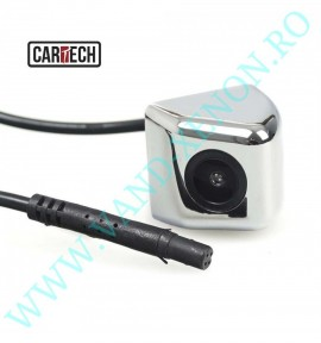 Senzori de parcare cu afisaj in oglinda si camera Cartech SM606