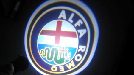 Set proiectoare / Logo montare sub usa 5w Alfa Romeo