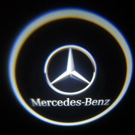 Set proiectoare / Logo montare sub usa 5w Mercedes