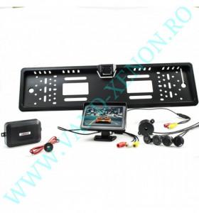 Senzori de parcare cu afisaj si camera Cartech SP701