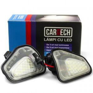 Lampi dedicate cu led sub oglinzi Volkswagen Passat, Scirocco, EOS