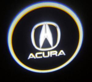 Set proiectoare / Logo montare sub usa 5w Acura