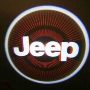 Set proiectoare / Logo montare sub usa 5w Jeep