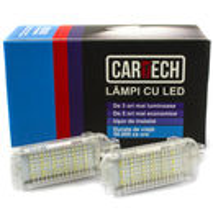 Lampi pentru picioare dedicate cu led Audi