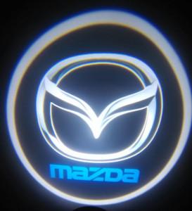 Set proiectoare / Logo montare sub usa 5w  Mazda