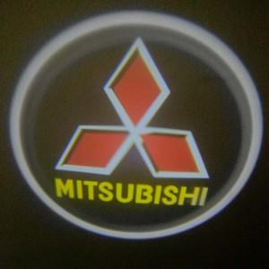 Set proiectoare / Logo montare sub usa 5w Mitsubishi