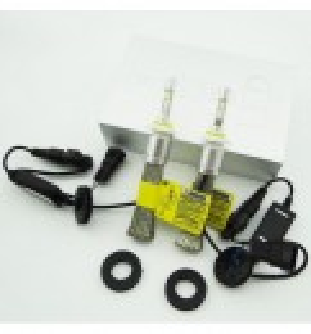 Kit LED CREE N9 80w 9600 lm H1 H7 H11 fara radiator cu racire prin cupru