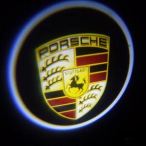 Set proiectoare / Logo montare sub usa 5w Porsche