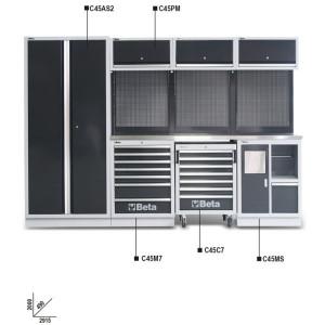Banc de lucru modular atelier C45/X