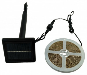 Banda LED cu panou solar 3.5W - 3m