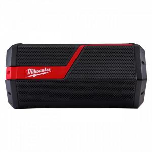 Boxa portabila Bluetooth M12-18 JSSP-0, IP 54, distanta wireless de 30 m, mufa incarcare telefoane, livrata fara acumulator