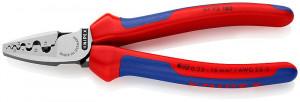 Cleste de sertizare pentru ferule, KNIPEX, 180 mm