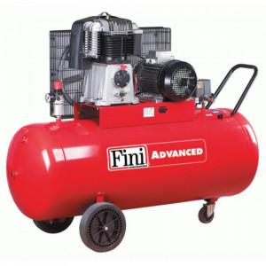 Compresor FINI BK 119-270-7.5, trifazat, debit 600 litri/min, butelie 270 litri