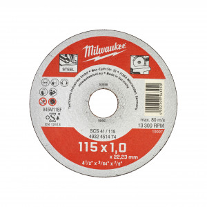 Disc taiat metal/inox Milwaukee Contractor