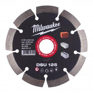 Discuri diamantate DSU Milwaukee, pentru masini de canelat