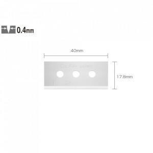 Lame cutite siguranta tip SKB-10/10B - set 10 lame