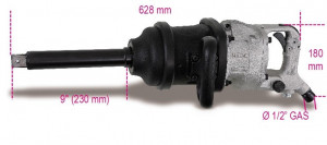 "Pistol pneumatic de impact, actionare1"", 3660Nm, tija extra-lunga 1930HLA"
