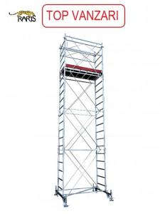 Schele , profesionale, mobile, din otel, suprafata podina 1.6x0.7m, Hlucrumax: 4.5-13.5m, tip S1.6