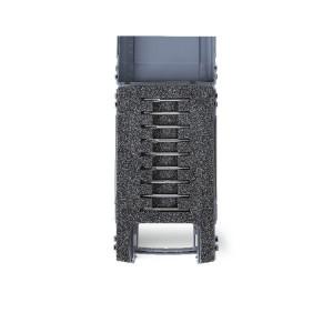 Set 9 mini cutite taiere precizie din metal dur, cutie plastic 426MD-3/A9