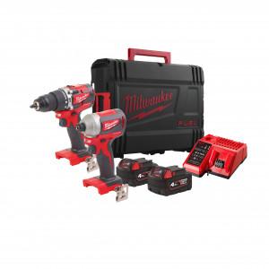 Set scule compacte cu motor fără perii cu acumulatori M18™