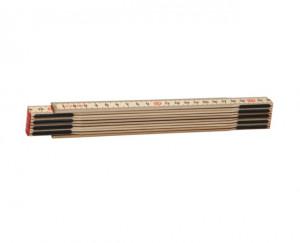 Slimboy HB Metru lemn carpen 2 m imbinari din otel si nituri ascunse culoare natur 2 m