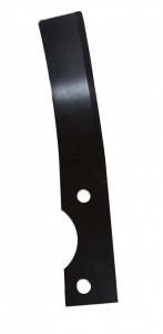 Stager cutit stanga freza motocultor 204x35mm, prindere 70x8.5mm