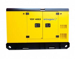 Stager YDY40S3 Generator insonorizat diesel trifazat 38kVA, 55A, 1500rpm