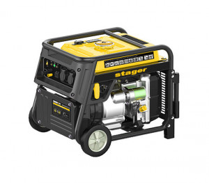 Stager YGE3500i Generator digital invertor monofazat, 3kW, benzina, pornire la sfoara