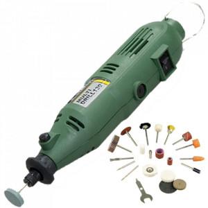 Stayer - MULTI DRILL 130 - Polizor drept, 130 W, bucsa 3.2 mm, turatie reglabila, valiza plastic, accesorii