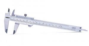 Subler mecanic de exterior, interior, cu tije de adancime, SCALA 0-250 mm, L 364, ACURATETE ± 0.05 mm