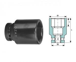 """Cap ch.tub.IMPACT 1.1/2"""" 6p 90 lung"""
