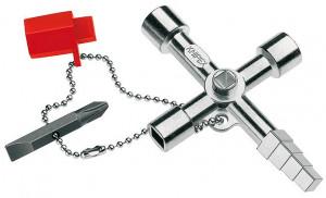 Cheie profesională pentru sisteme de închidere uzuale KNIPEX