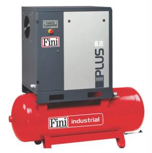 Compresor cu surub FINI Plus 8-10-500, debit 1000 litri/min