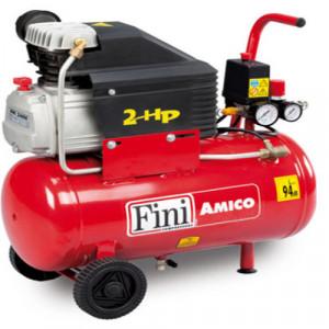 Compresor FINI Amico 25/2400, monofazat, debit 100 litri/min, butelie 24 litri