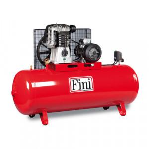 Compresor FINI BK 120-500F-10, trifazat, debit 810 litri/min, butelie 500 litri