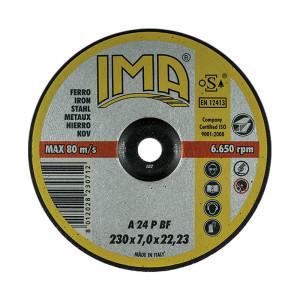 Disc polizat metal IMA 125x6.4 mm