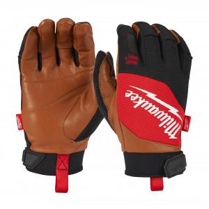 Mănuși de protecție hibrid din piele Milwaukee