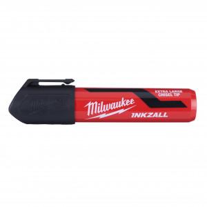 Marker INKZALL™ negru cu vârf lat - mărimea XL