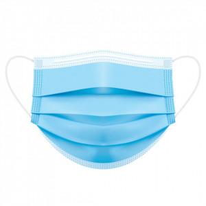 Mască Medicală Tip IIR ( Ambalaj Individual), pachet 50 buc, culoare Albastru
