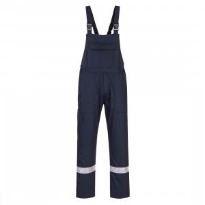 Pantaloni sudura Biz cu pieptar Iona, culoare Navy