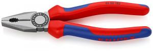 Patent combinat KNIPEX, mânere multicomponent, 180 mm