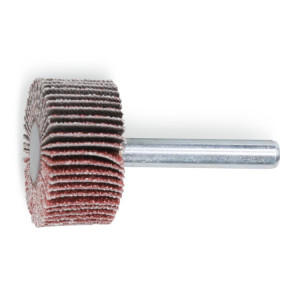 Perie lamelara abraziva din corindon Ø30mm , cu tija Ø6mm 11263