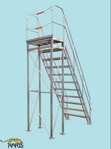Platforma fixa 60 0 , incarcarea maxima: 400 kg, tip PF60