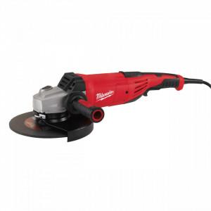 Polizor unghiular 220 V Milwaukee AGV 22-230 DMS, disc 230 mm, motor 2200 W, alimentare Retea 220-240 V
