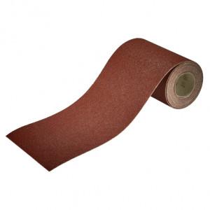 Rolă hârtie de şlefuire autoadezivă pentru lemn/metal, 4 m x 115 mm
